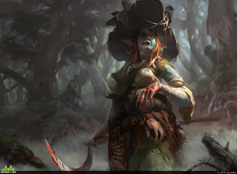 preview ведьма из болот