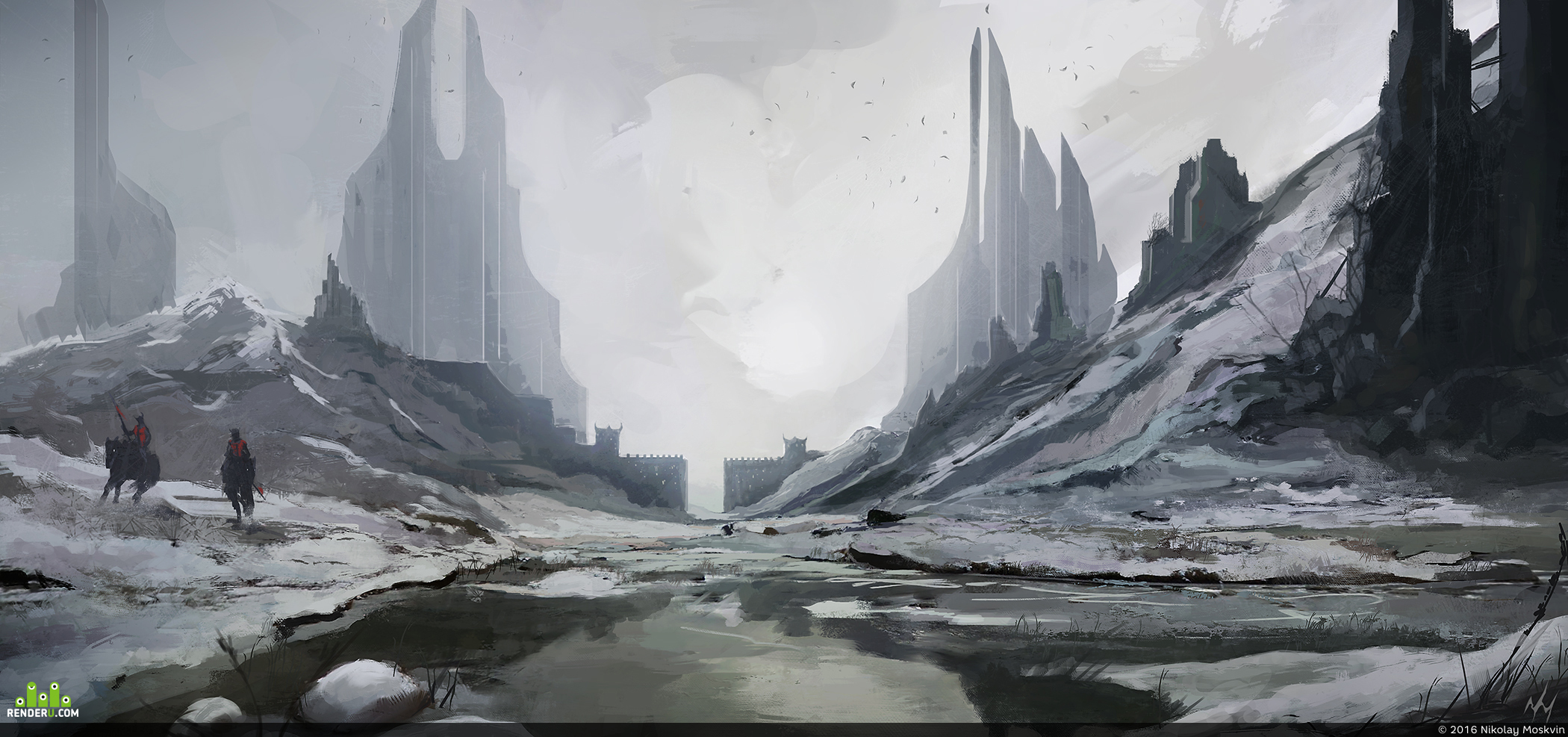 preview Ice towers