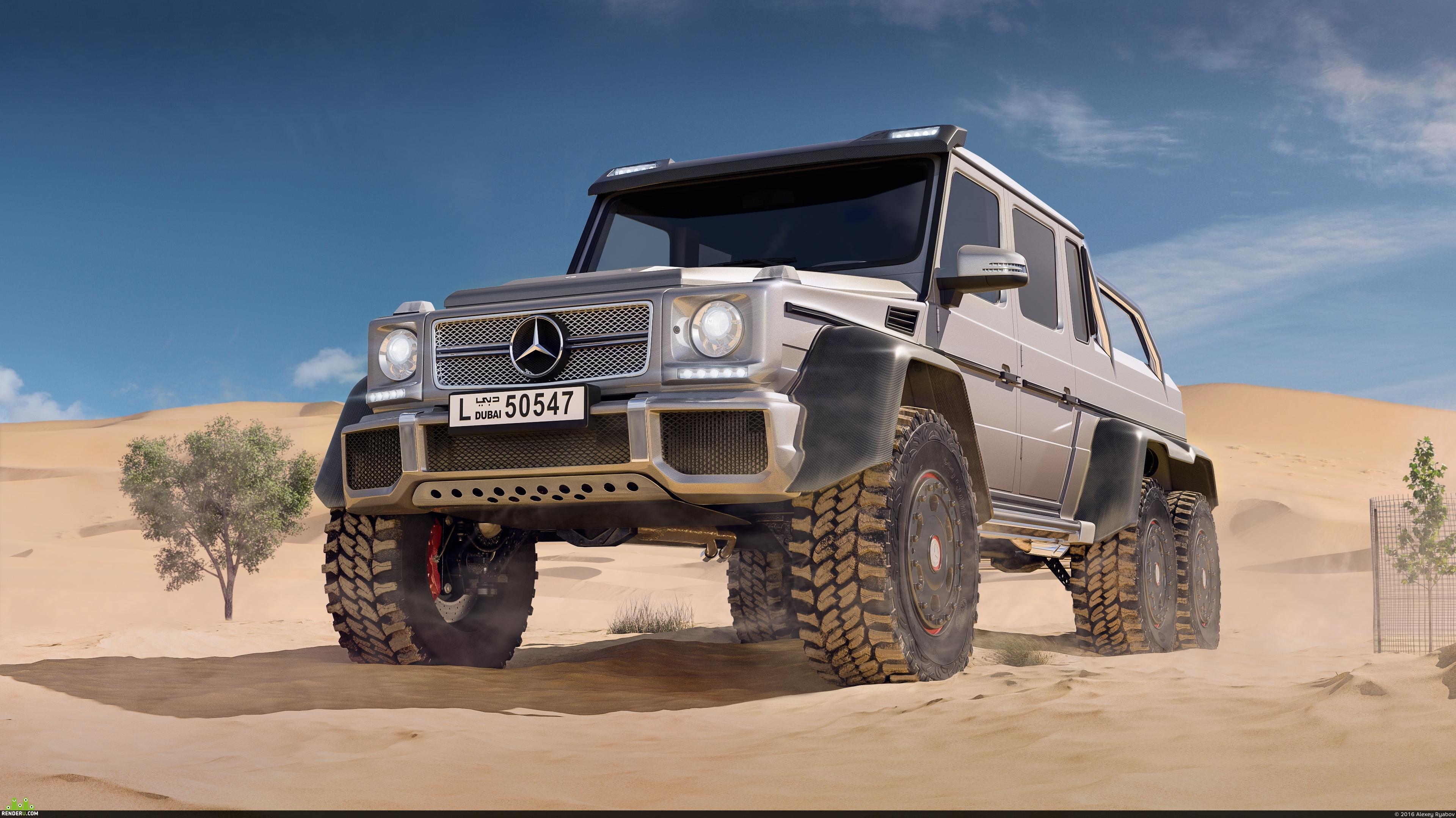 preview Mercedes-Benz g63 amg 6x6