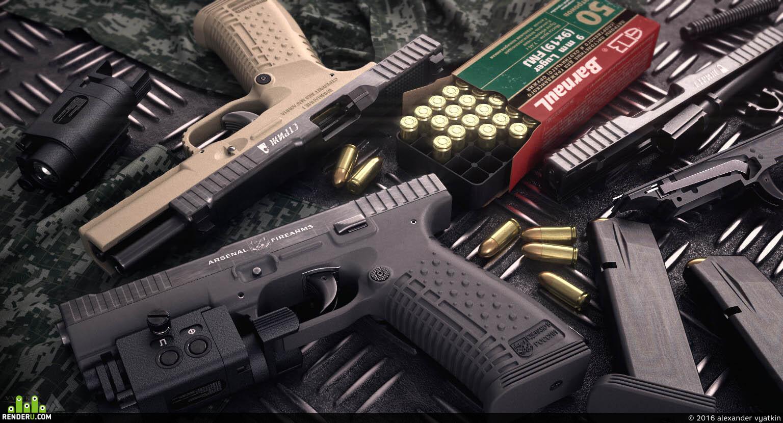 """preview пистолет """"Стриж"""""""