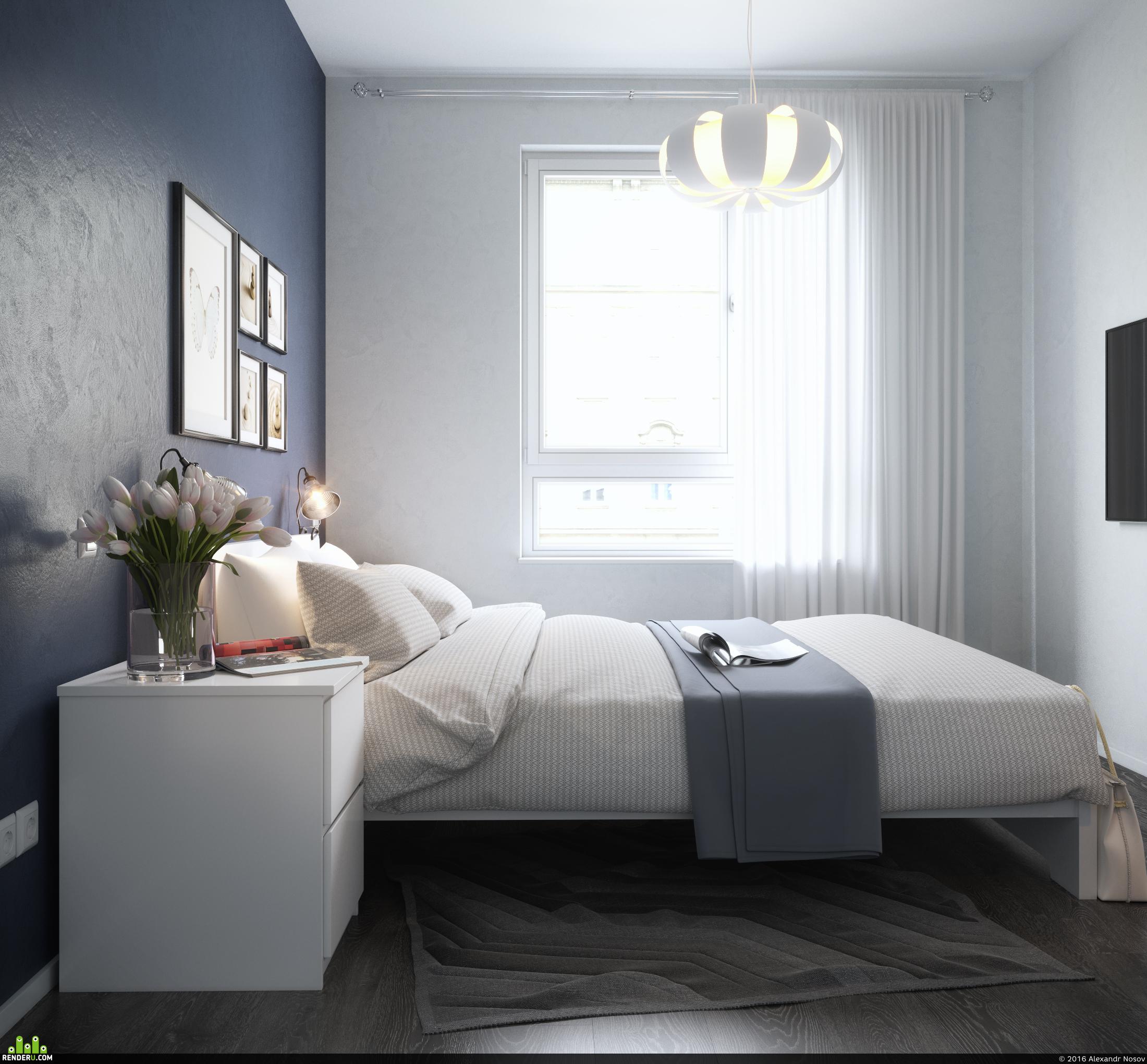 preview Спальня с мебелью IKEA