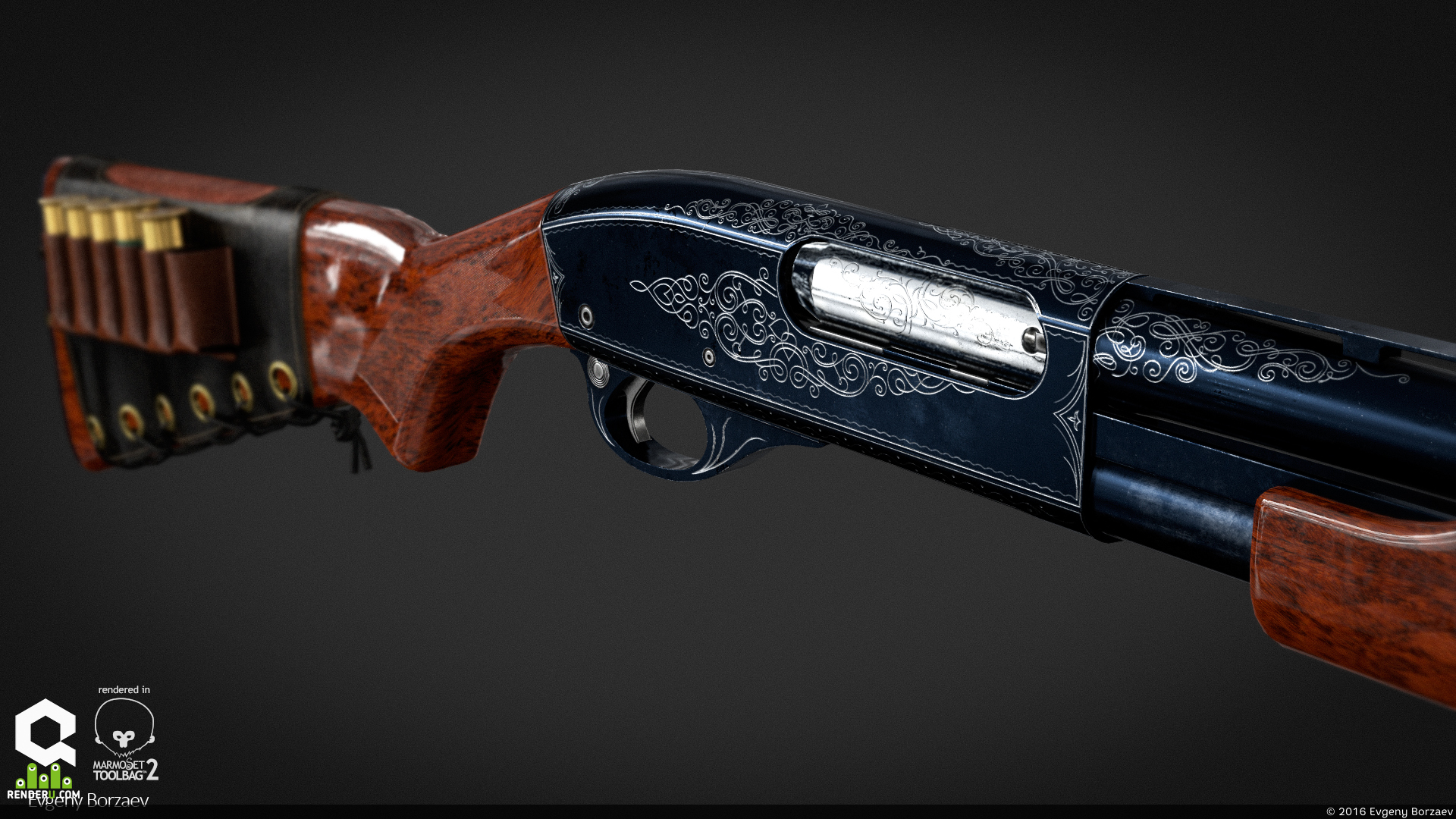 preview Remington 870 Custom