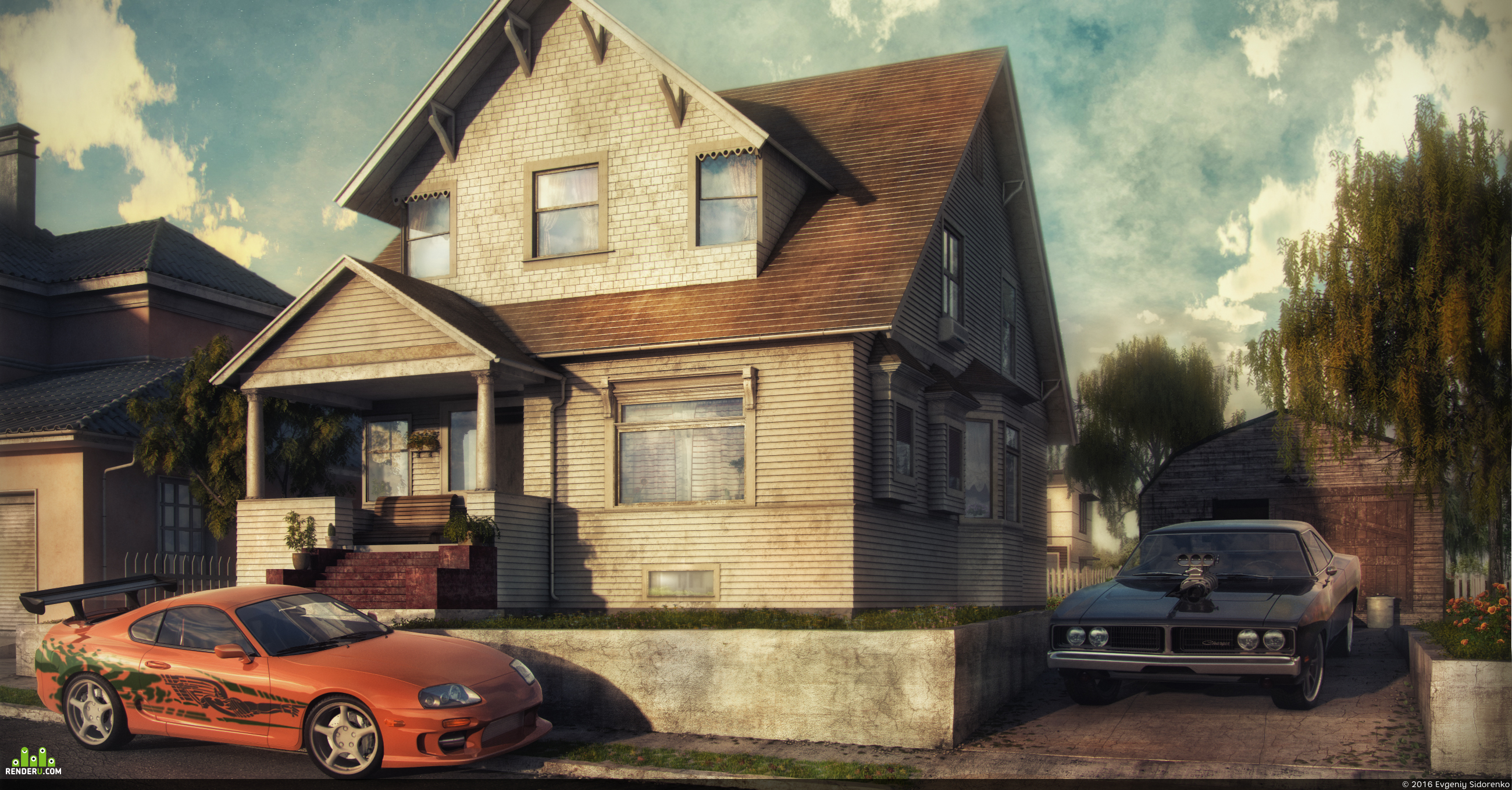 preview Toretto's house (The Fast and the Furious)