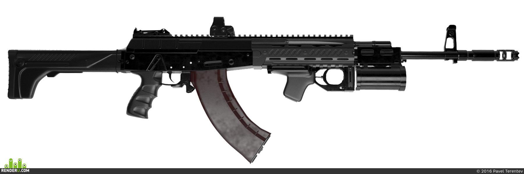 preview Ак-12 (один из ранних вариантов)