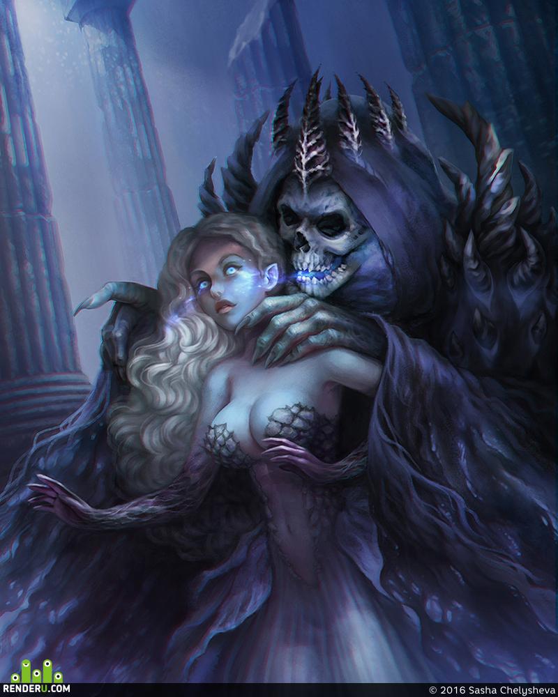 preview темный король и его пленница