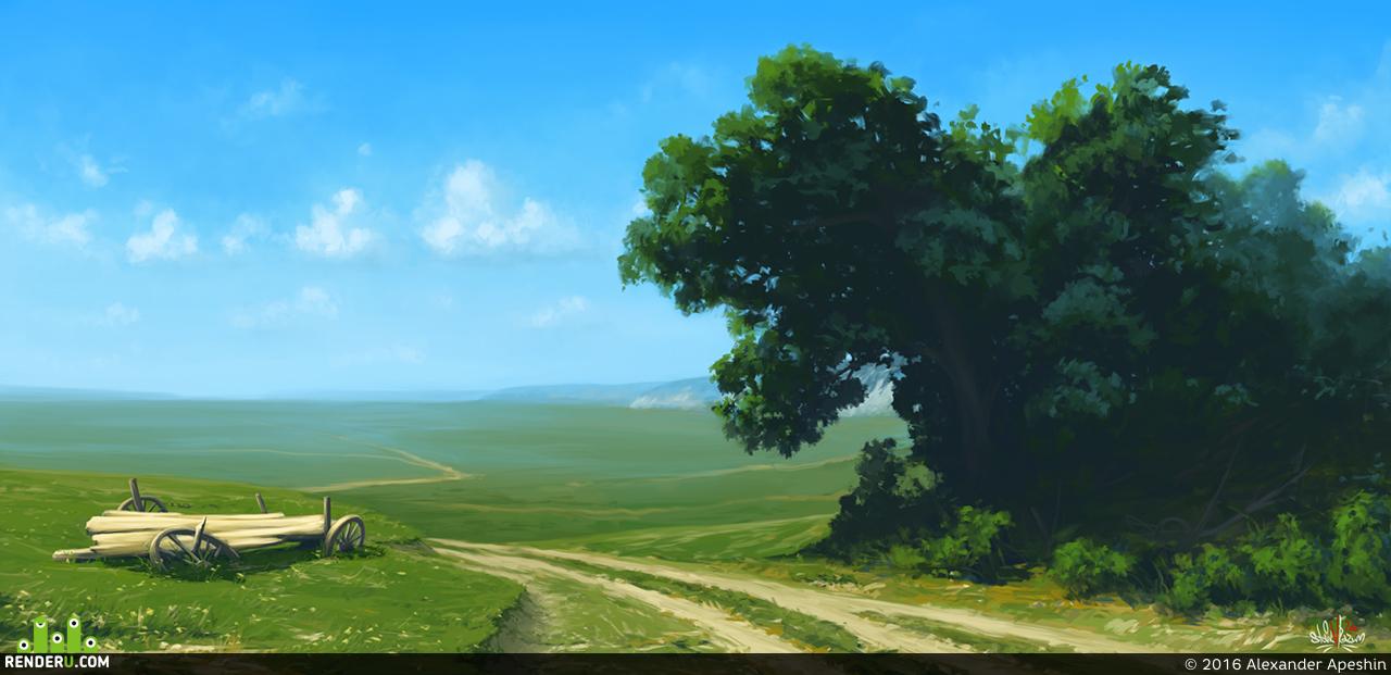 preview Дорога в поле