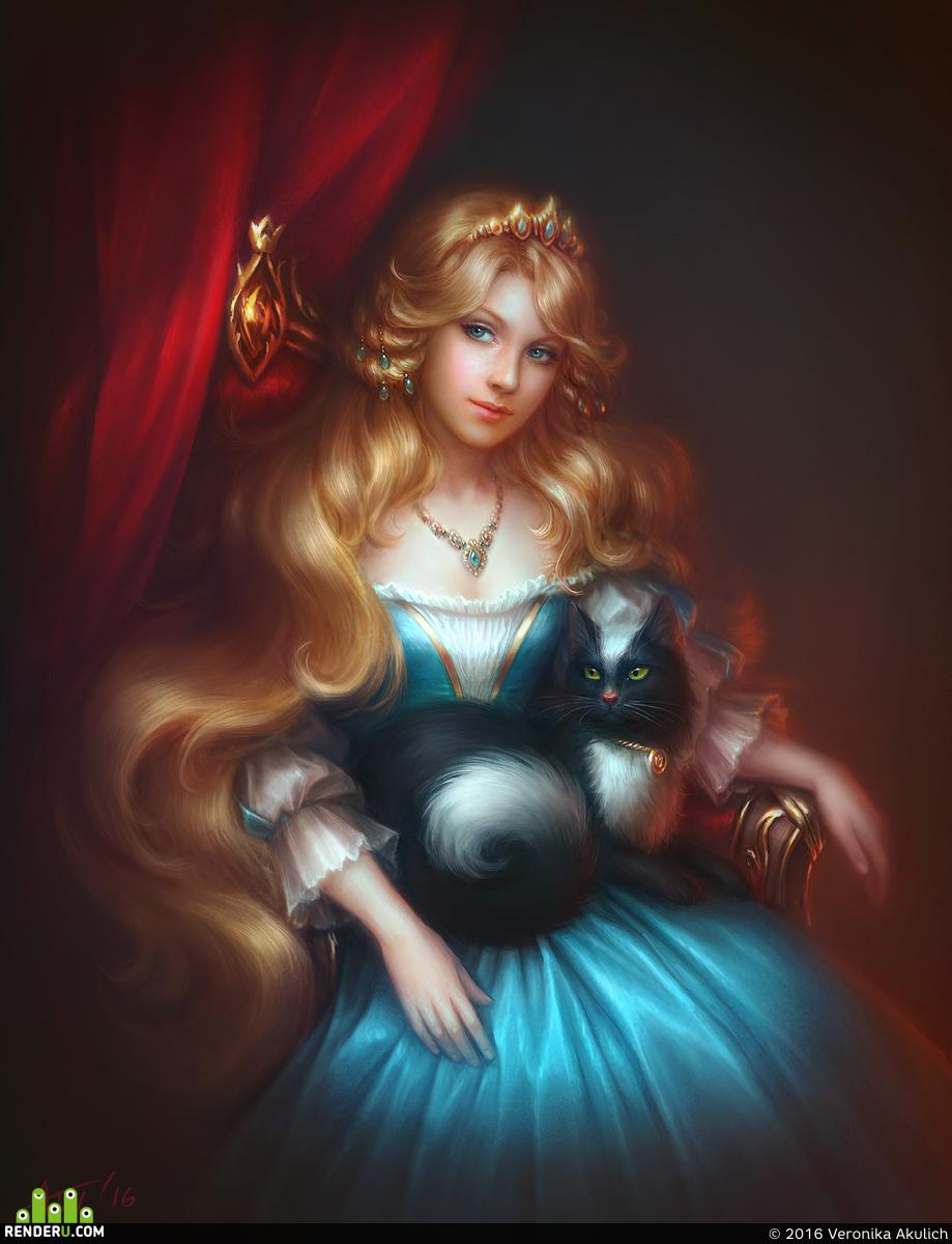 preview Принцесса и её Кот