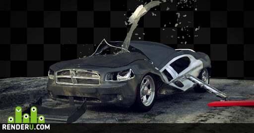 preview Деформация автомобиля