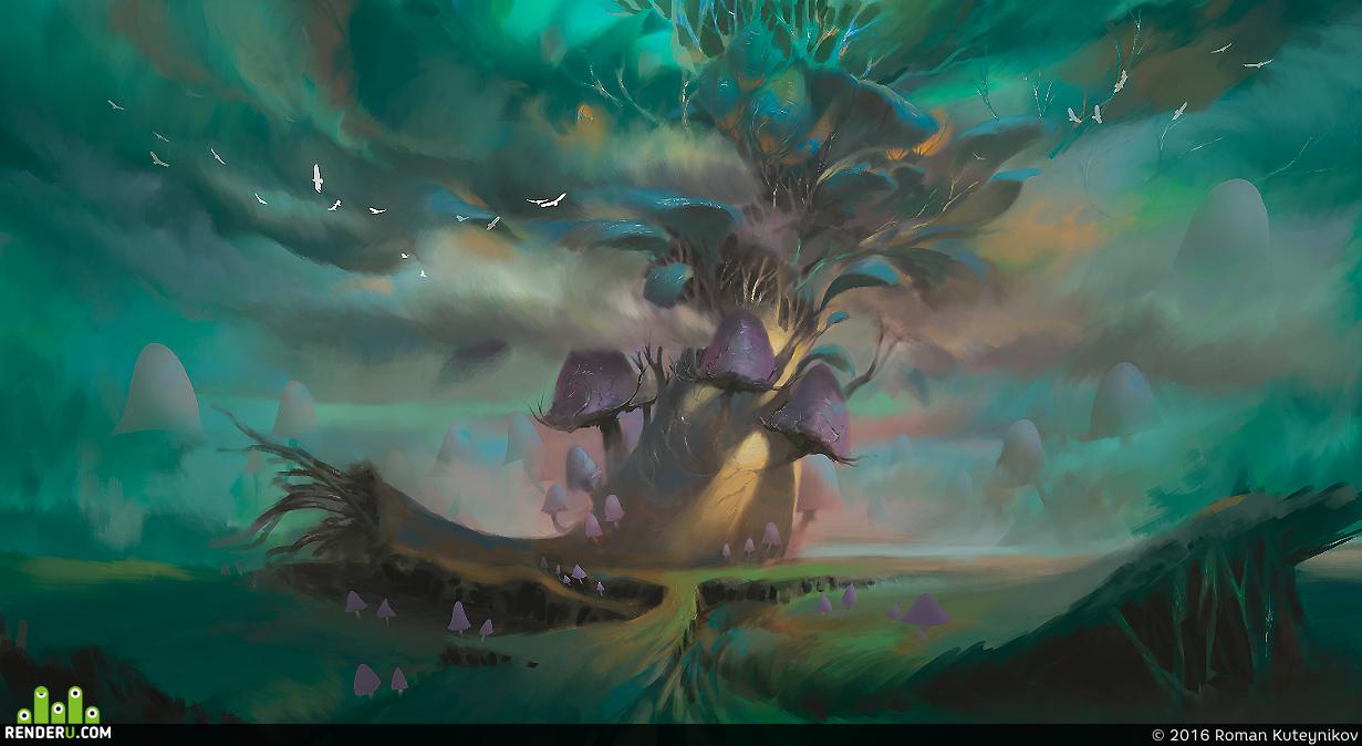 preview Mushroom Tree