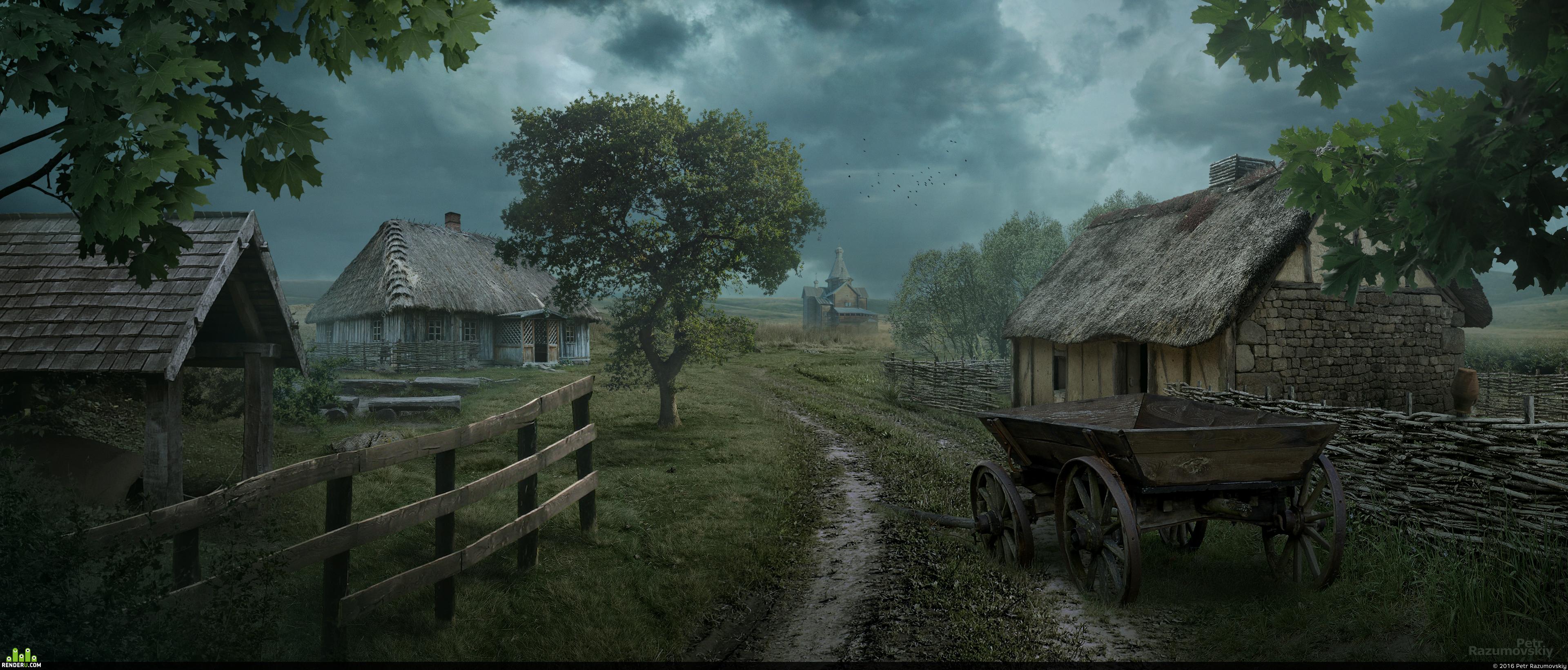 preview Деревня