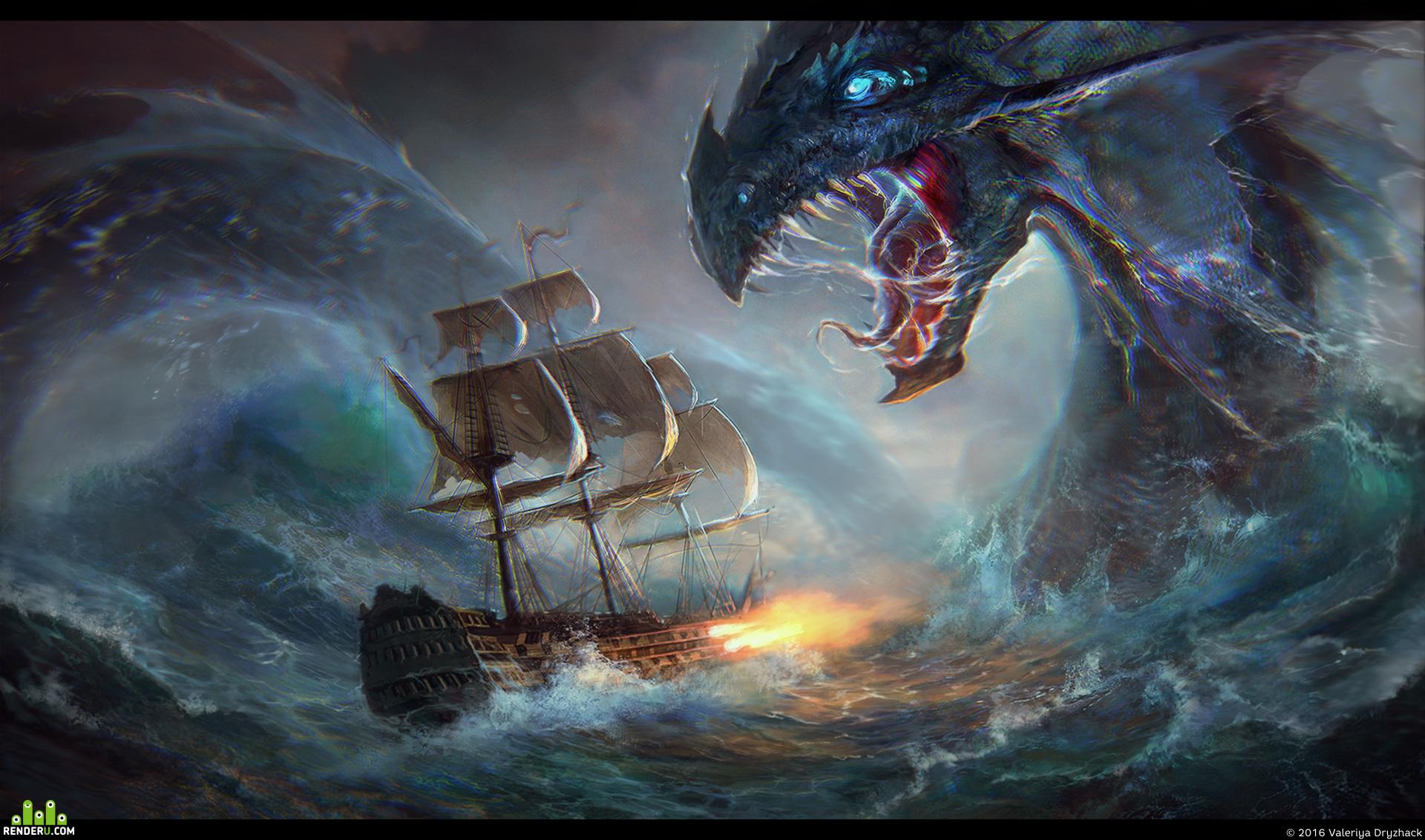 preview Dangerous sea