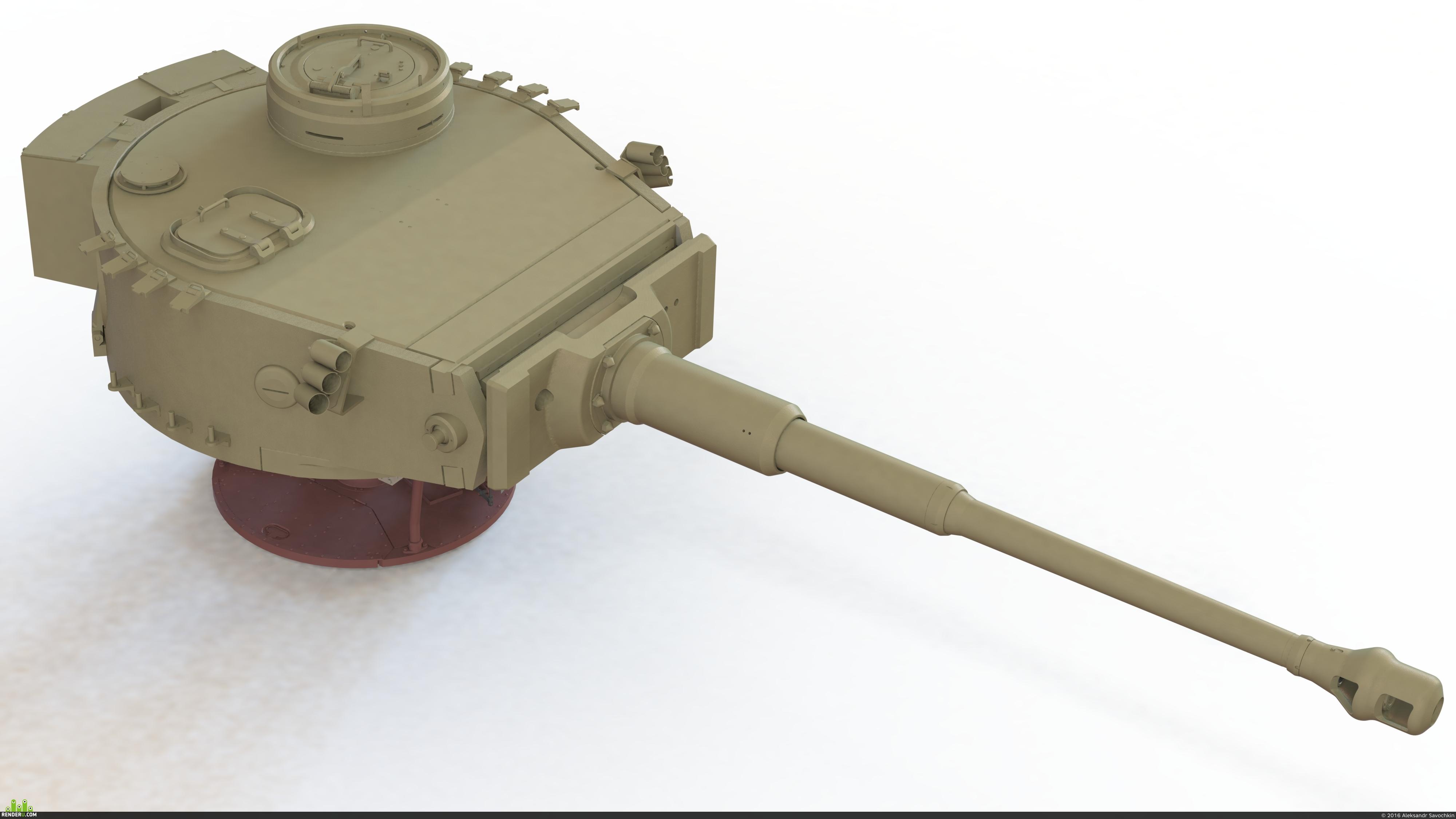 preview Башня танка Тигр