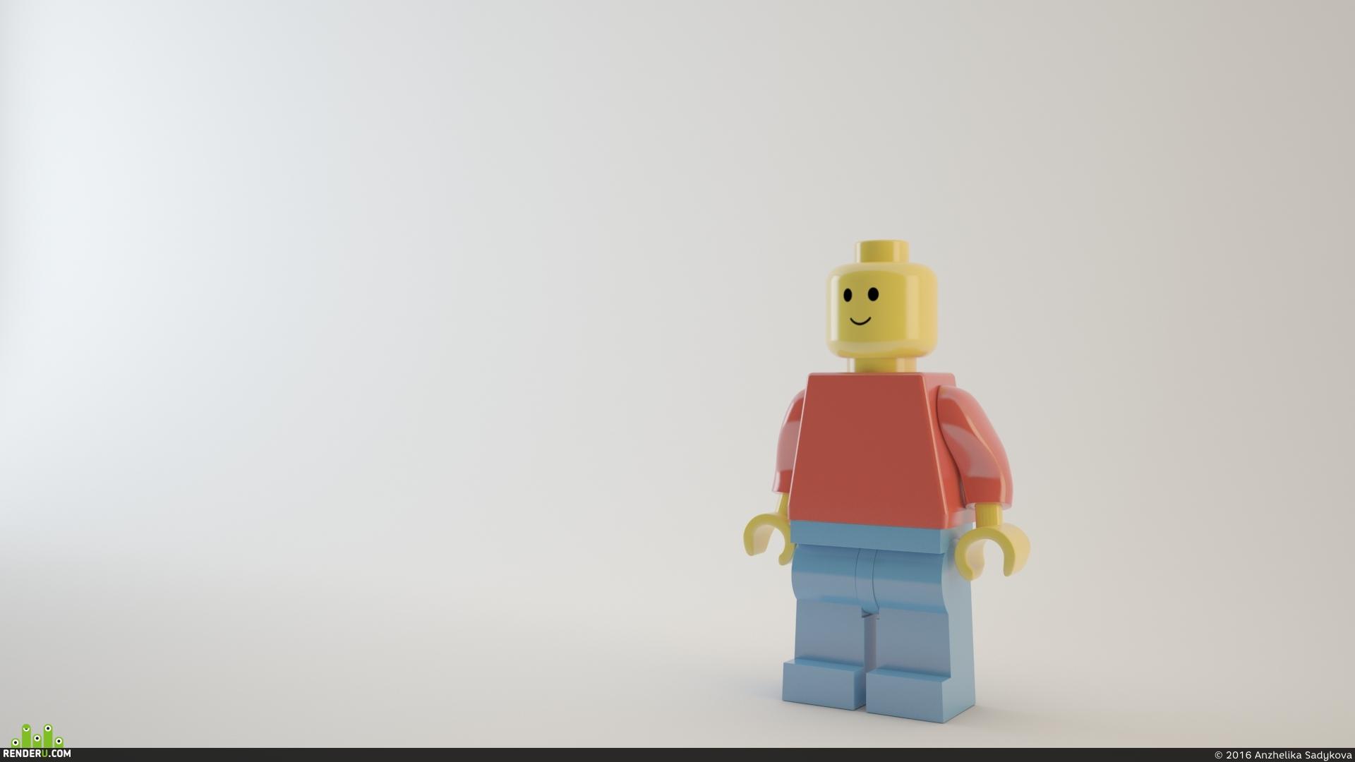 preview Лего человек
