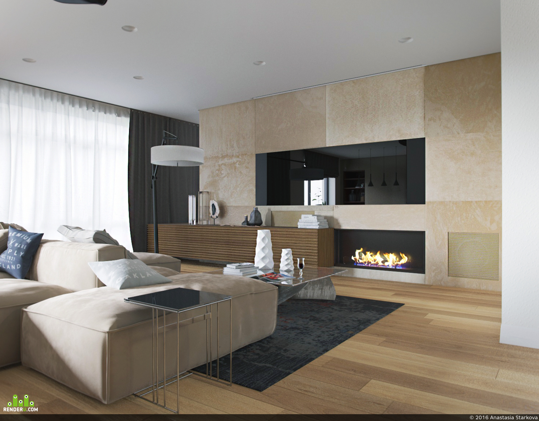 preview Проект квартиры 110 кв.м г. Екатеринбург