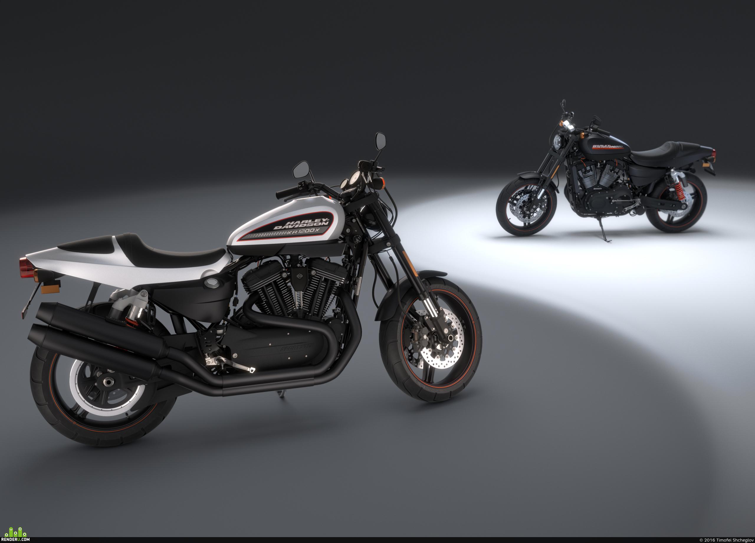 preview Harley Davidson XR1200x