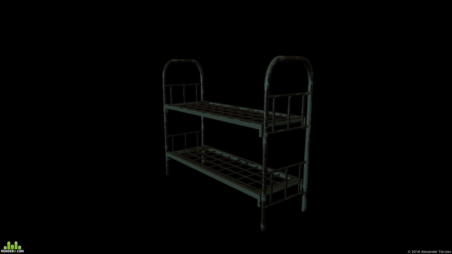 preview Старая кровать