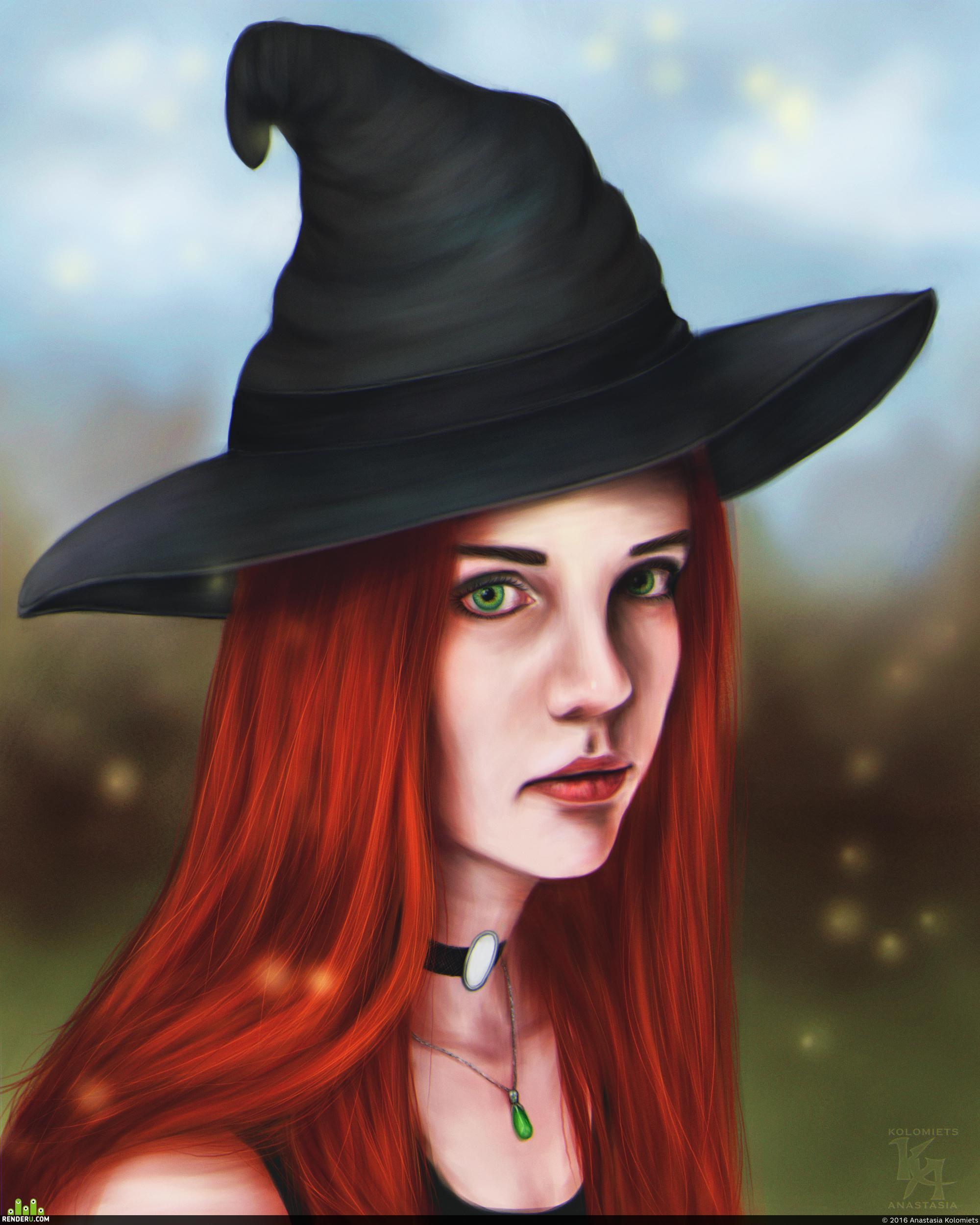 preview Ведьмочка