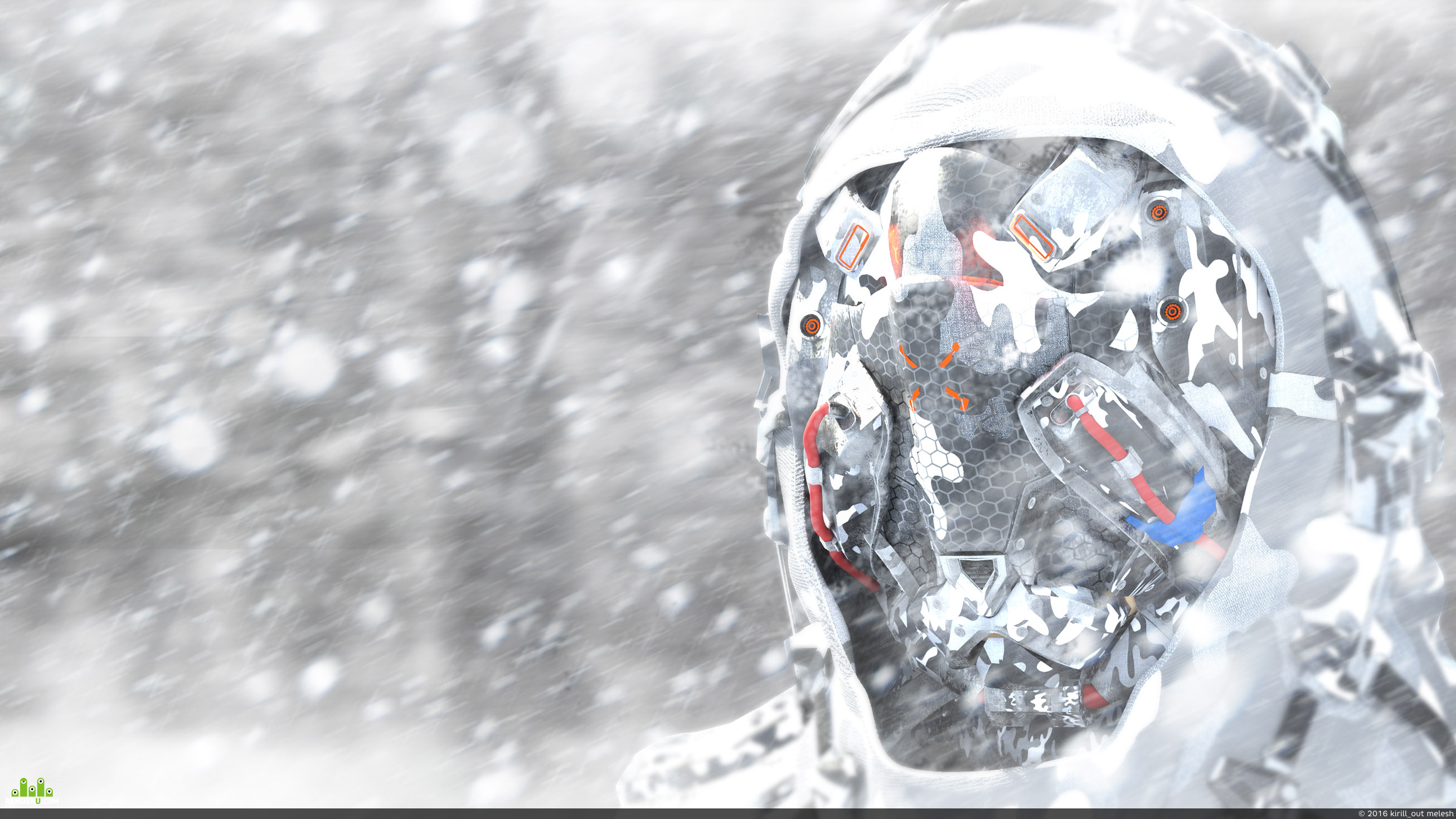 """preview концепт шлема """"ПРОРОК"""""""