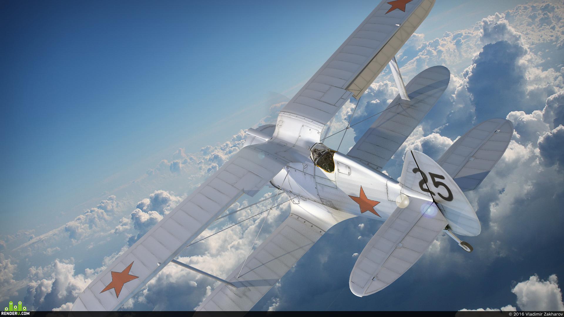 """preview ВВС РККА, истребитель И-153 """"Чайка"""" 1939 г."""