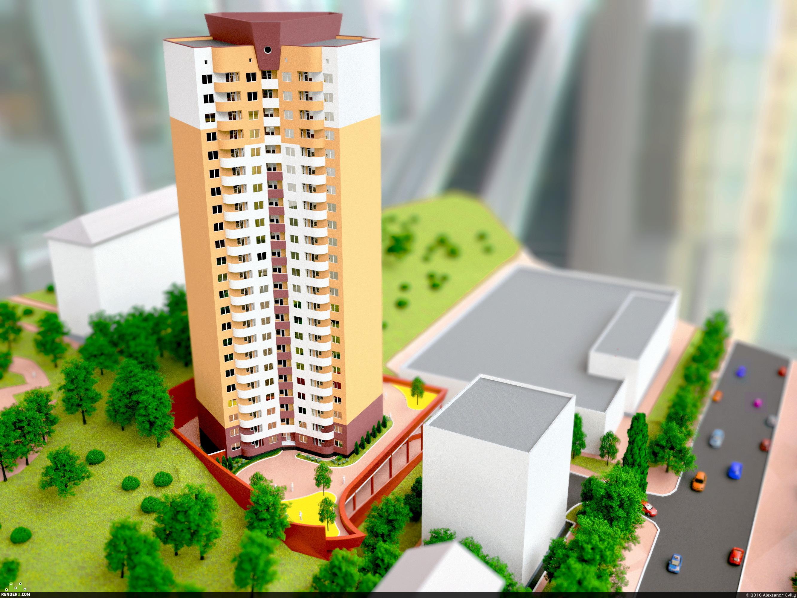 preview Архитектурный макет