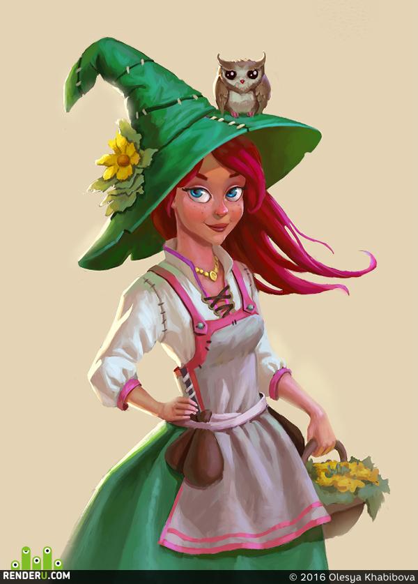 preview Маленькая ведьма