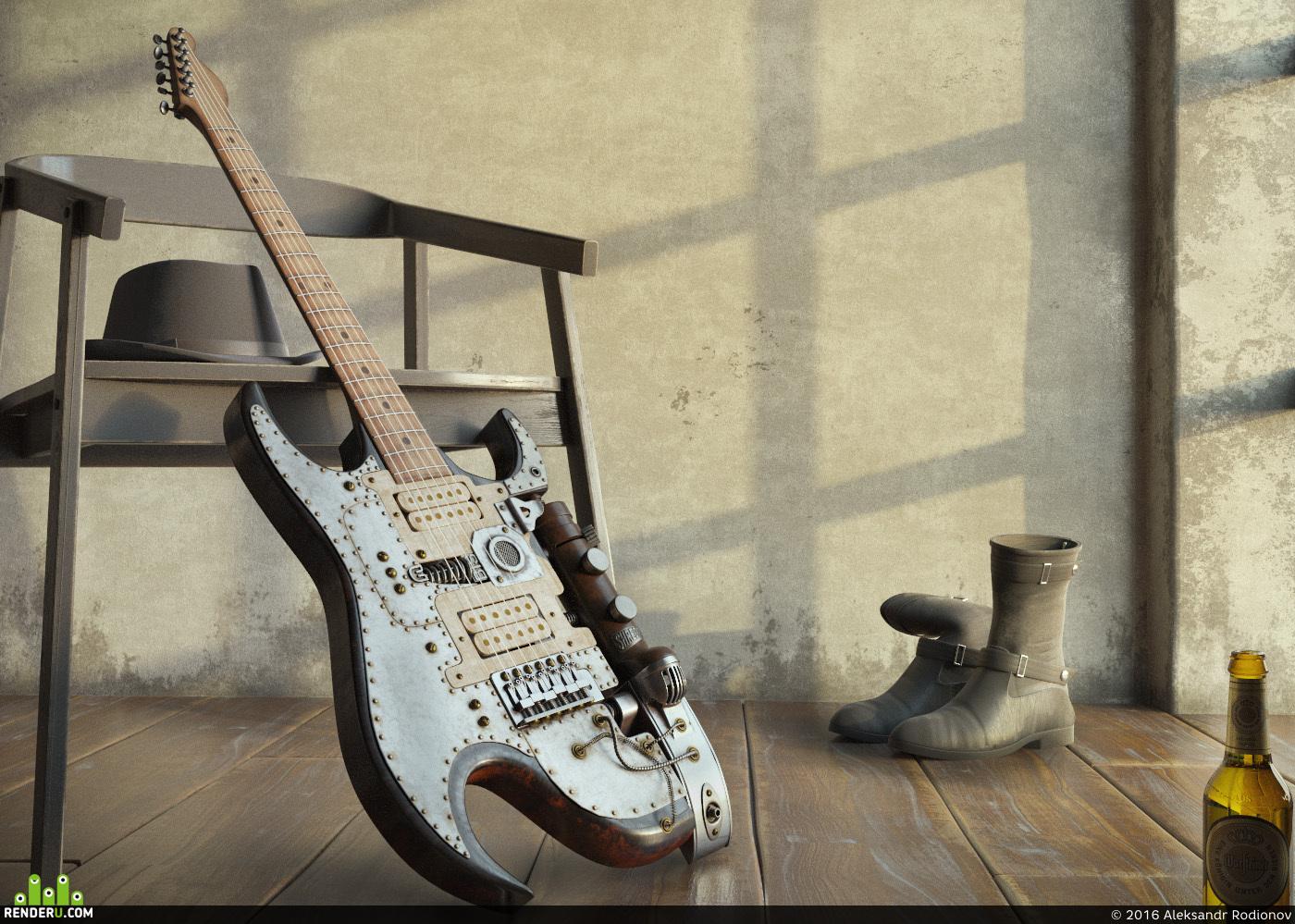 preview Tony Cochran Custom Electric Guitar