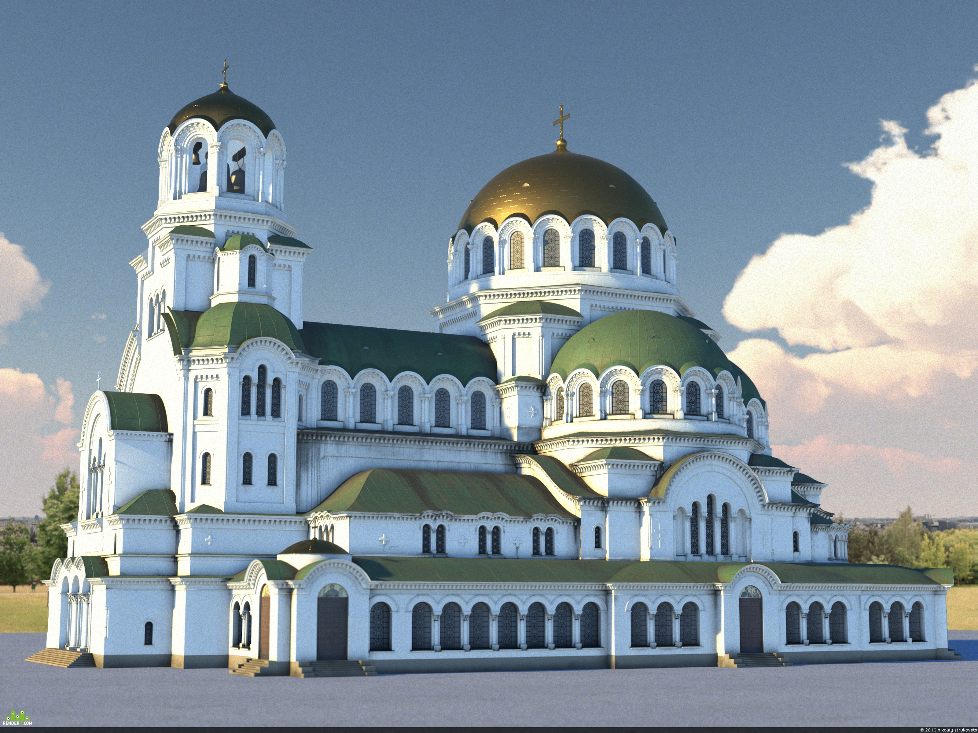 preview Храм-памятник Александра Невского