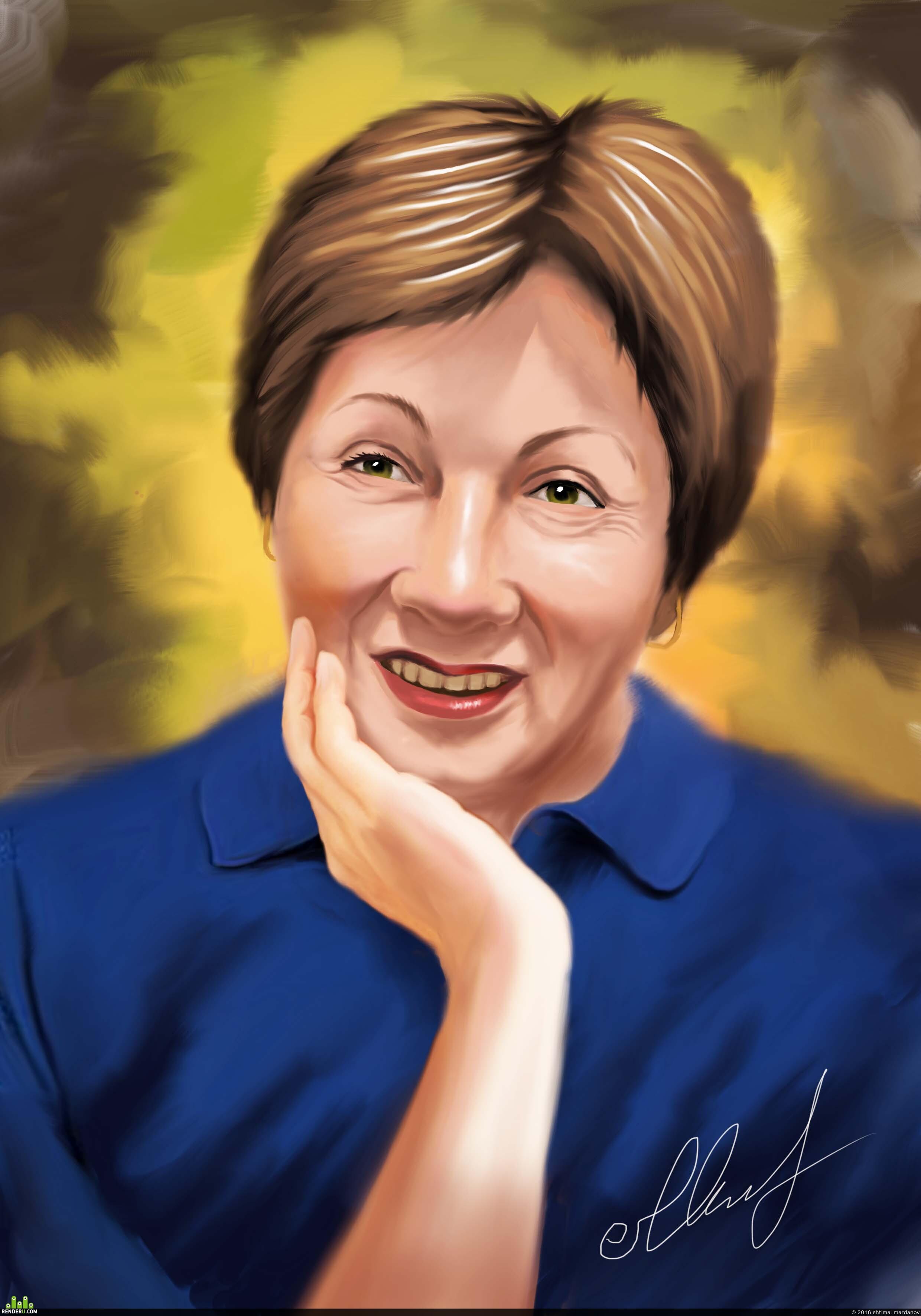 preview Портрет неизвестной