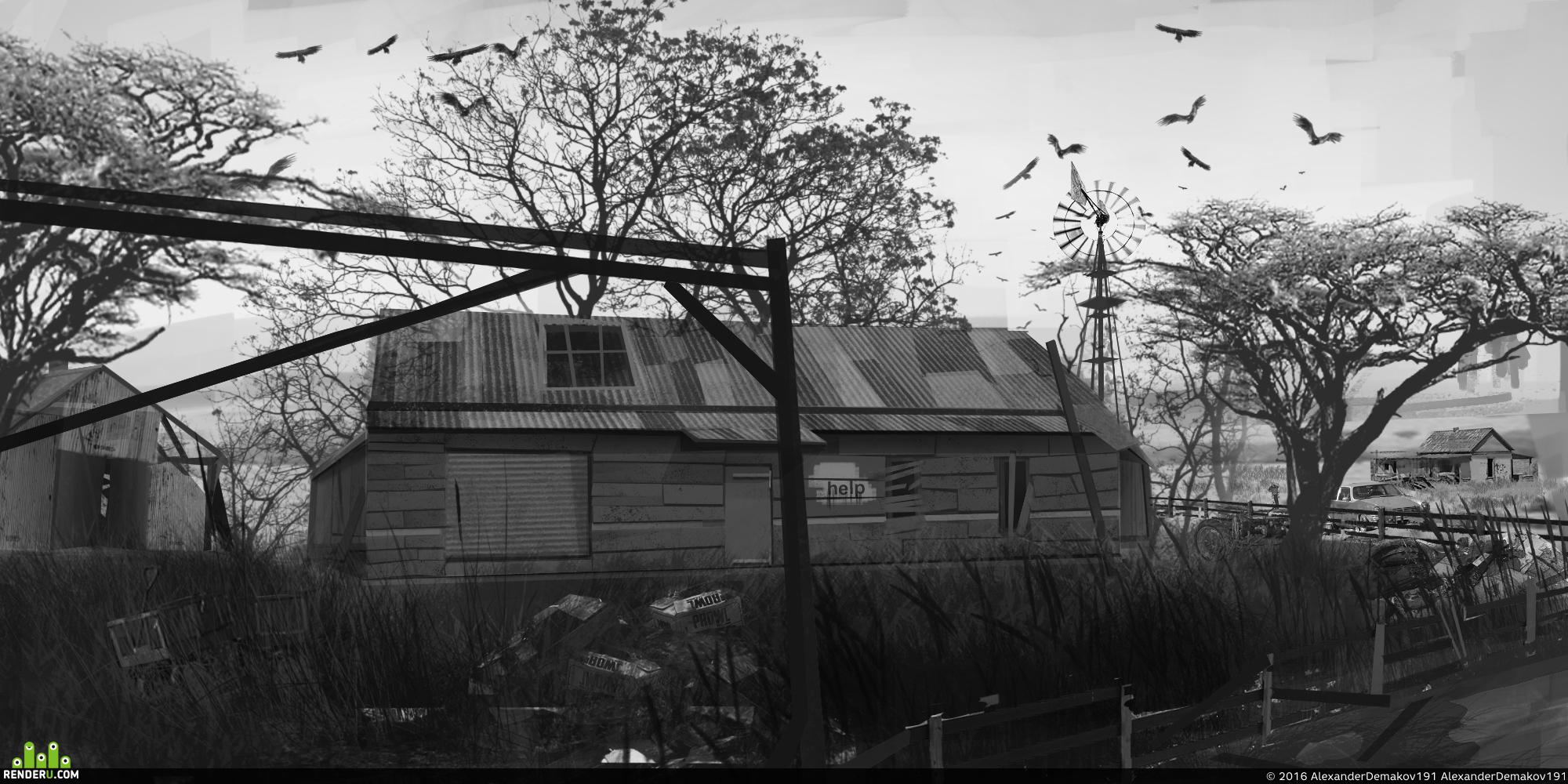 preview пост апокалипсис (ферма)