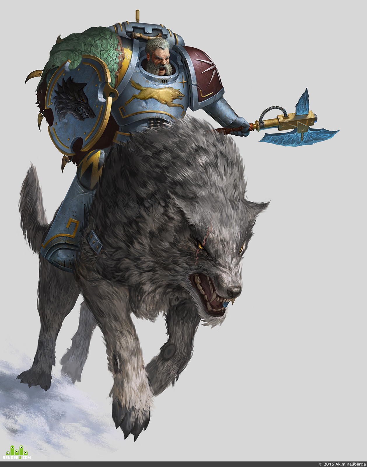 preview Warhammer 40k 'Curse of the Wulfen'