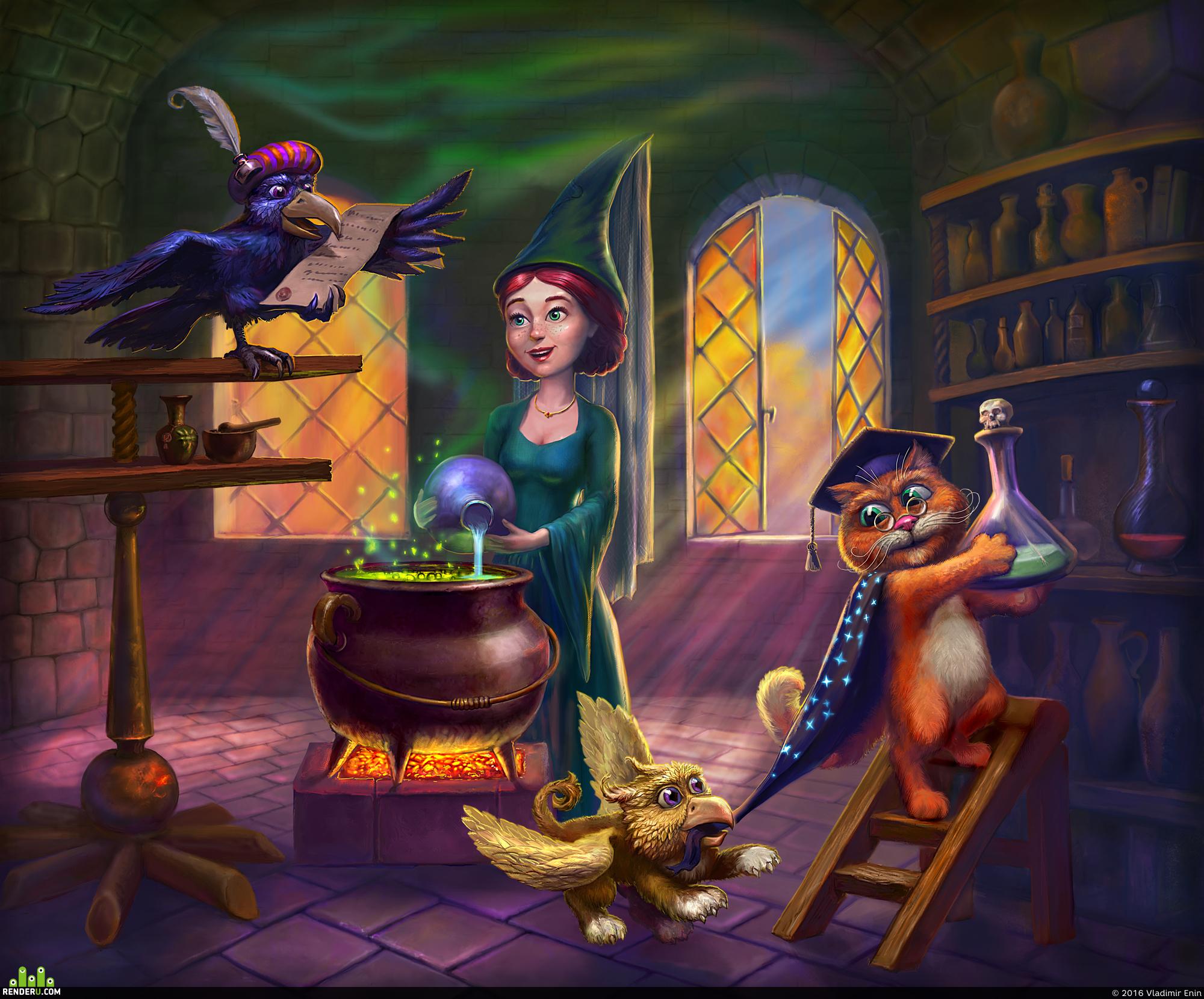 preview В гостях у ведьмочки