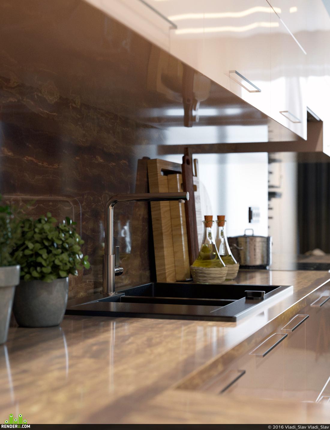 preview Кухня-гостиная