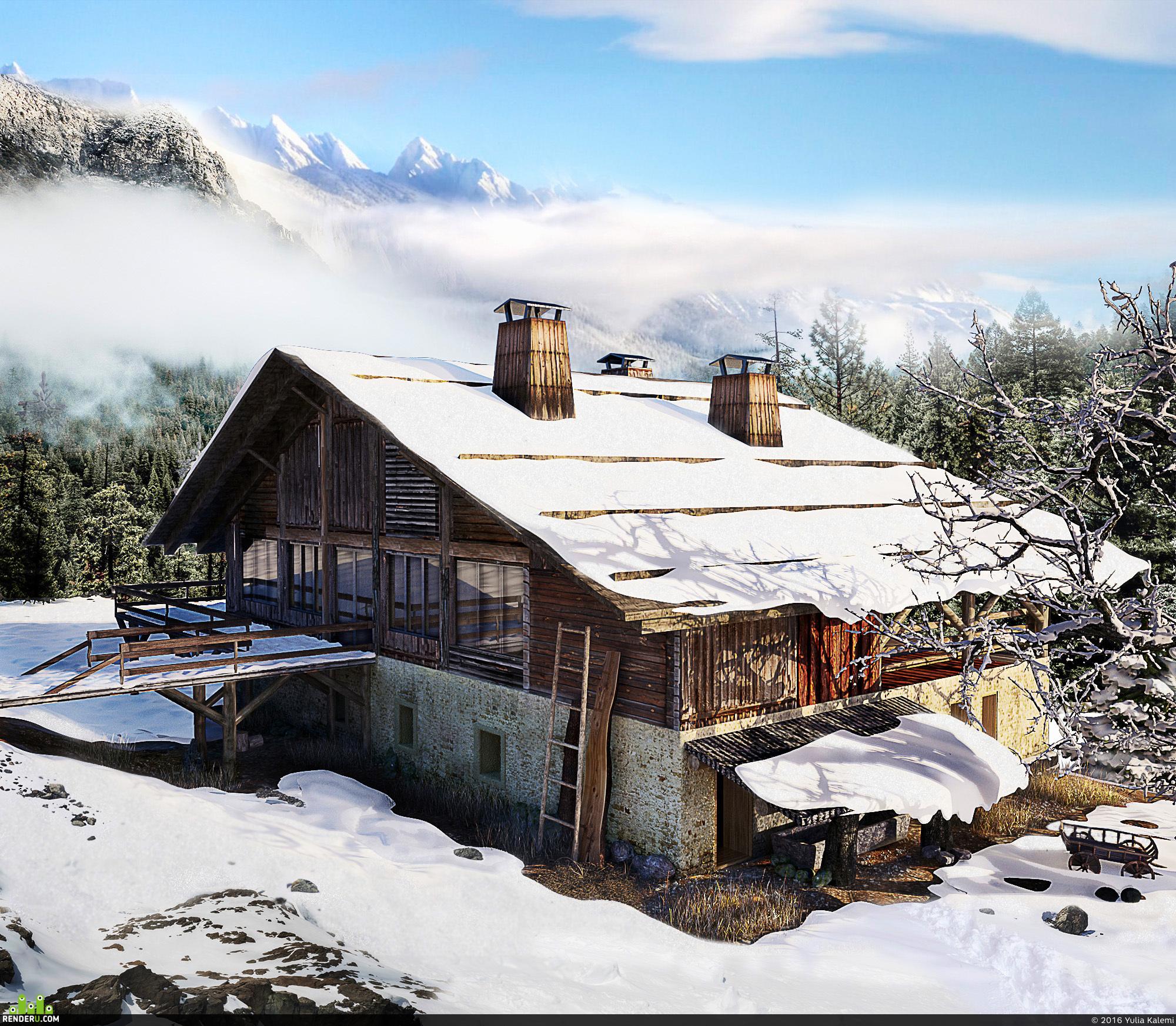 preview Домик в Альпах