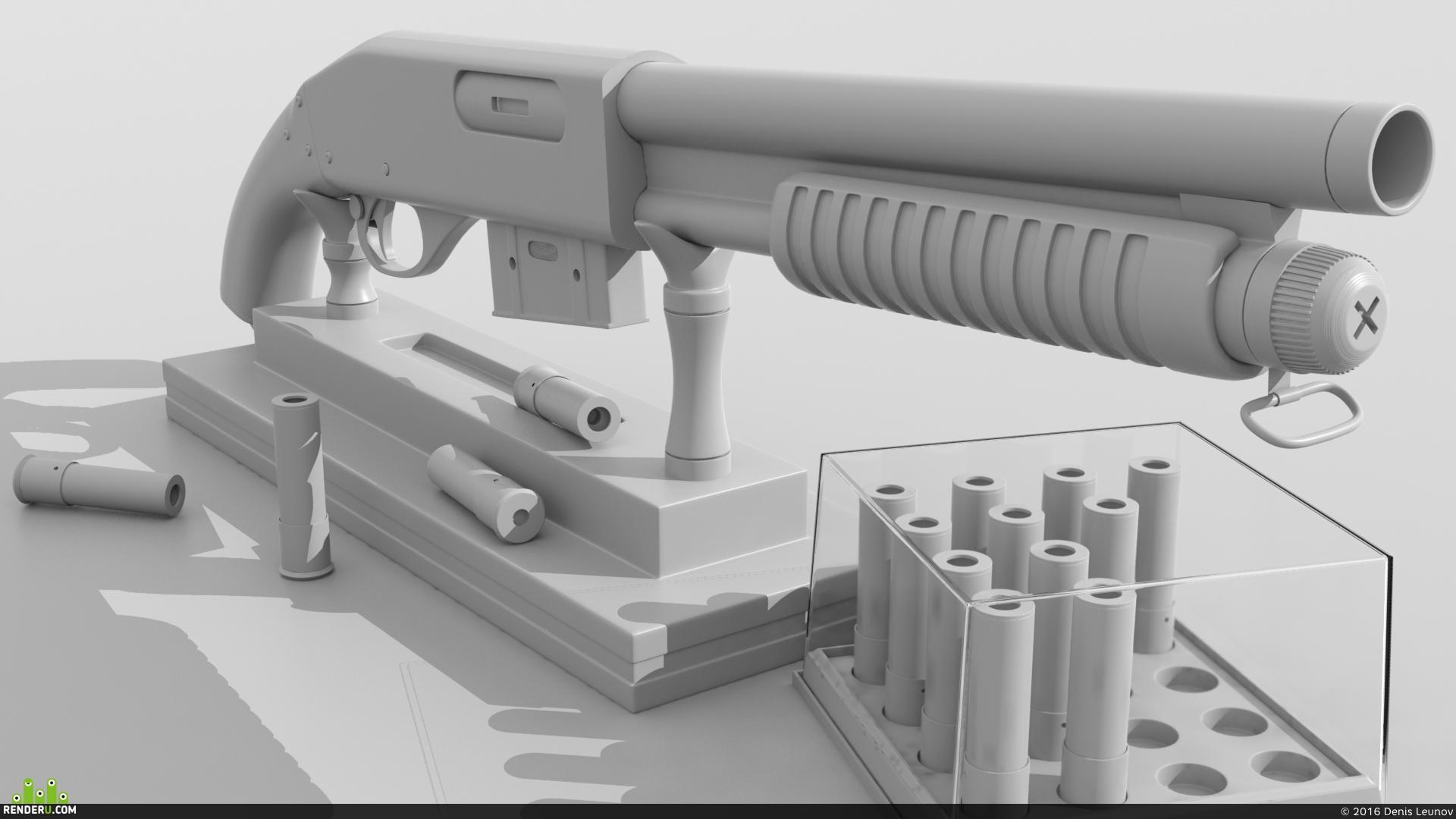 preview Дробовик Sawed-Off Airsoft Shotgun