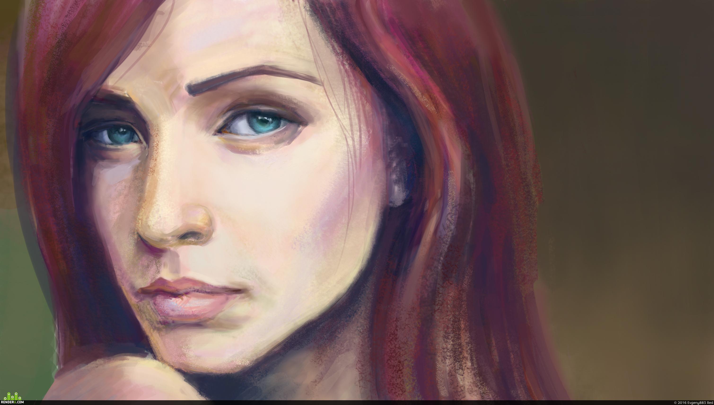 preview Девушка, портрет