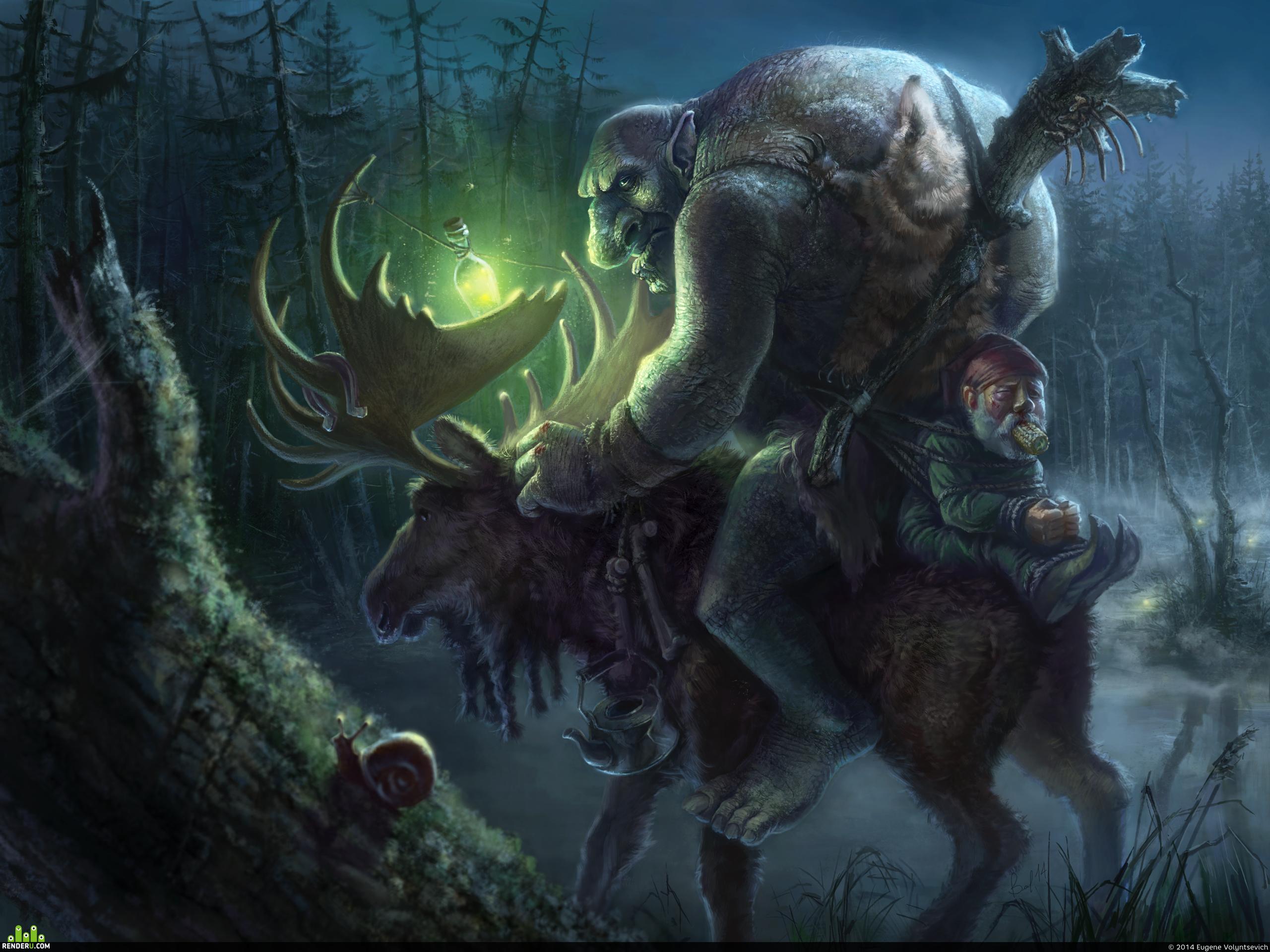 preview Тролль-охотник возвращается домой