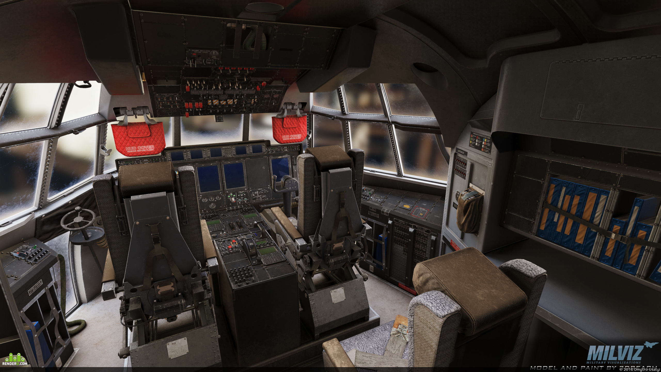 preview C-130J Virtual Cockpit for FSX