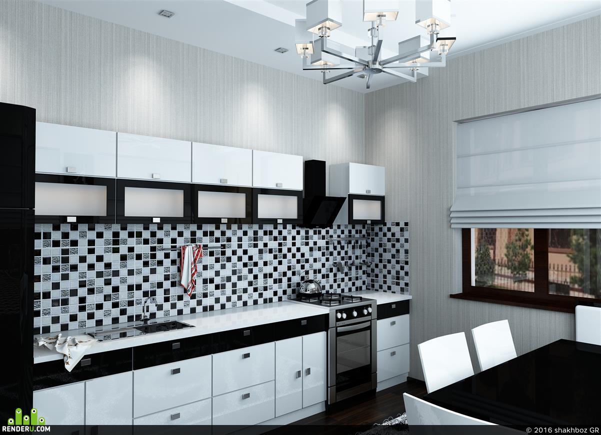preview Дизайн интерьера кухни