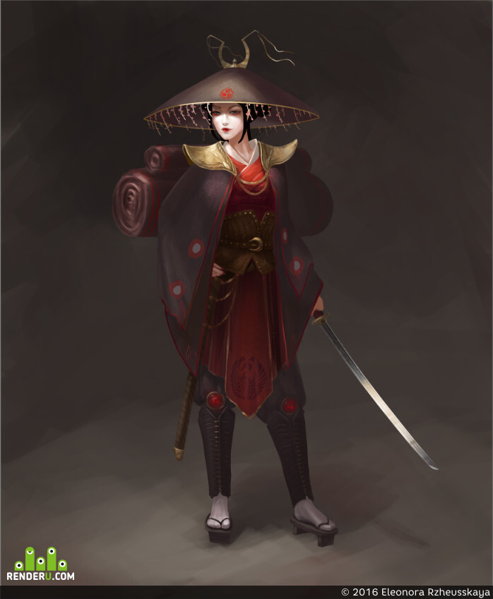 preview Гейша-самурай