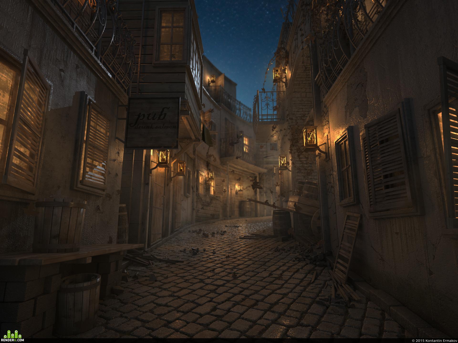 preview Средневековый квартал