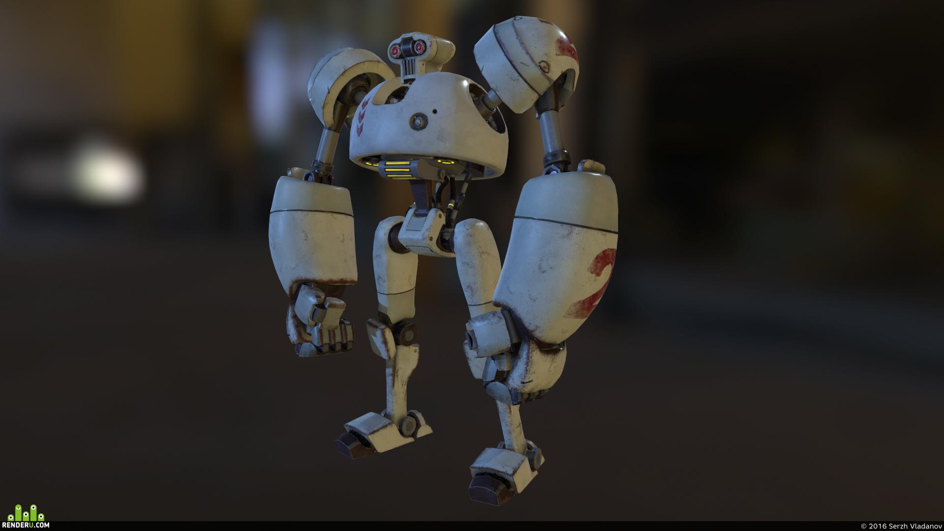 preview Бойцовский робот