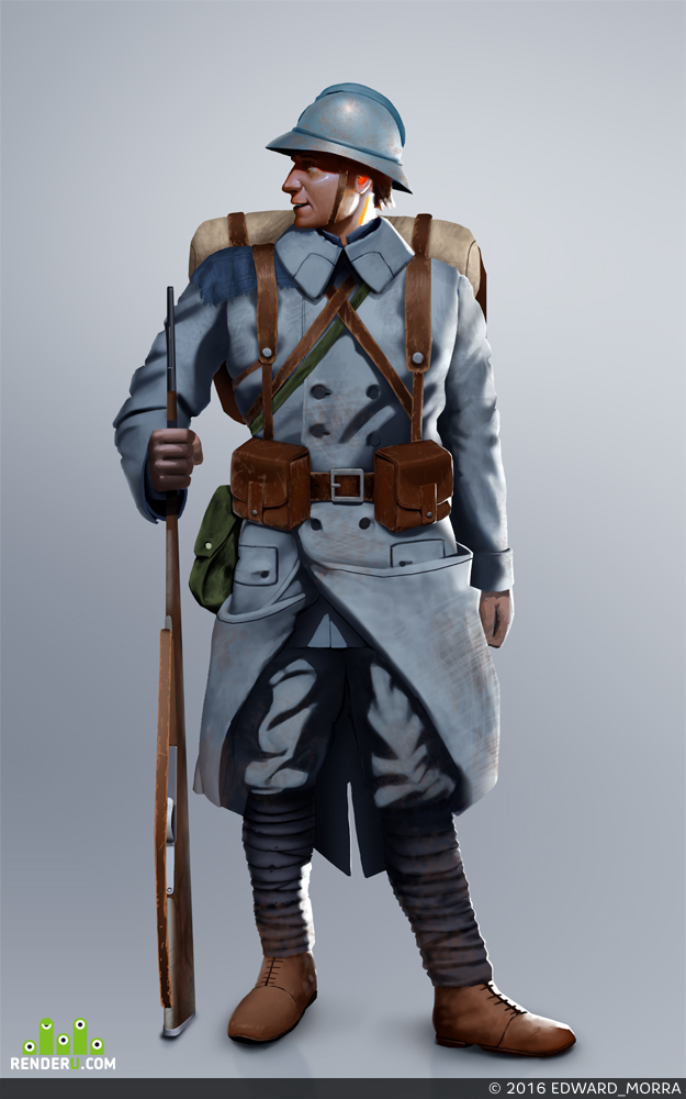 preview Французский солдат Первой Мировой
