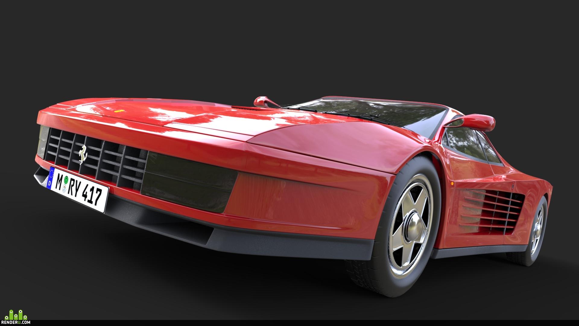 preview Ferrari Testarossa
