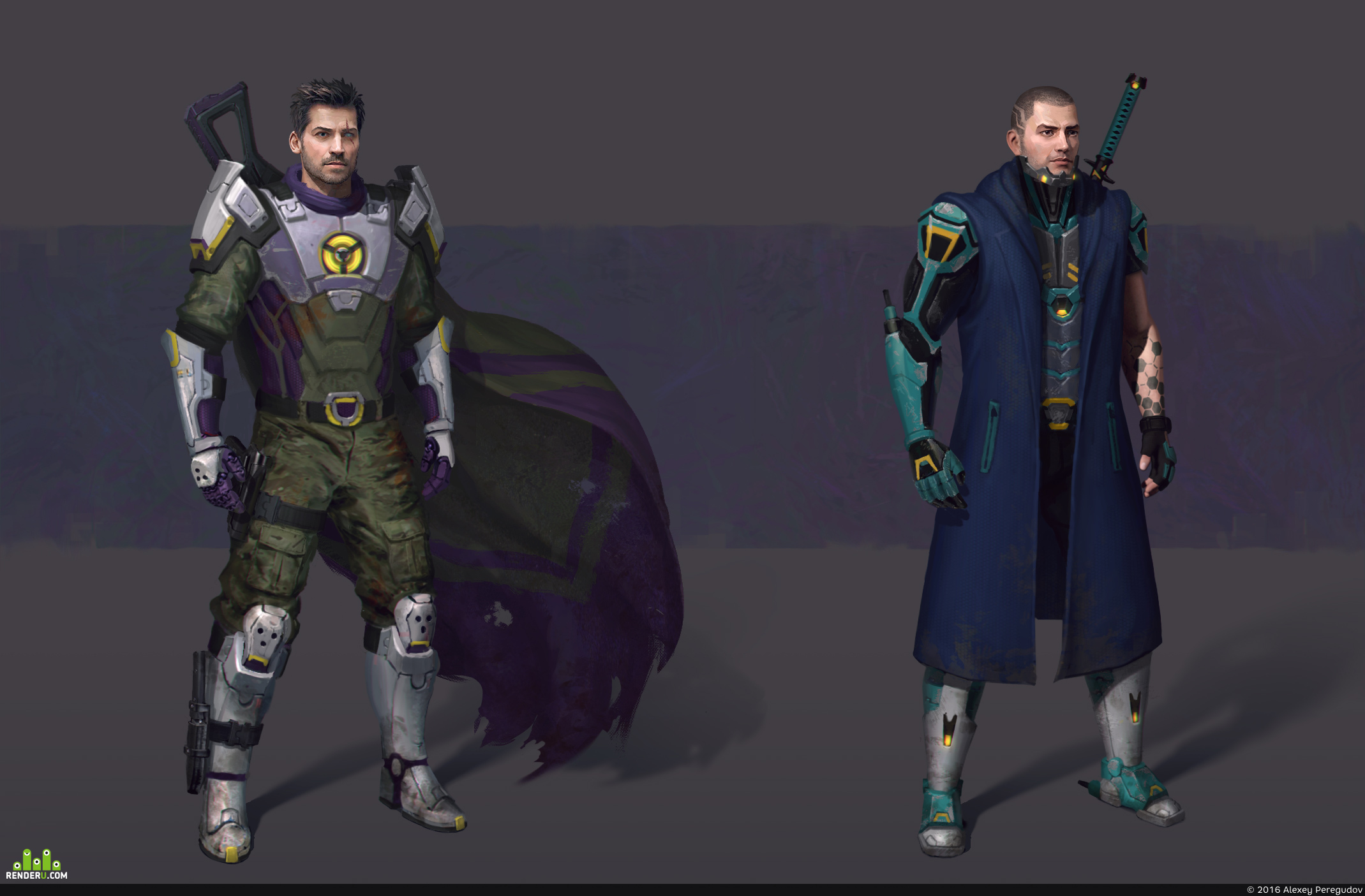 preview Sci-fi warriors