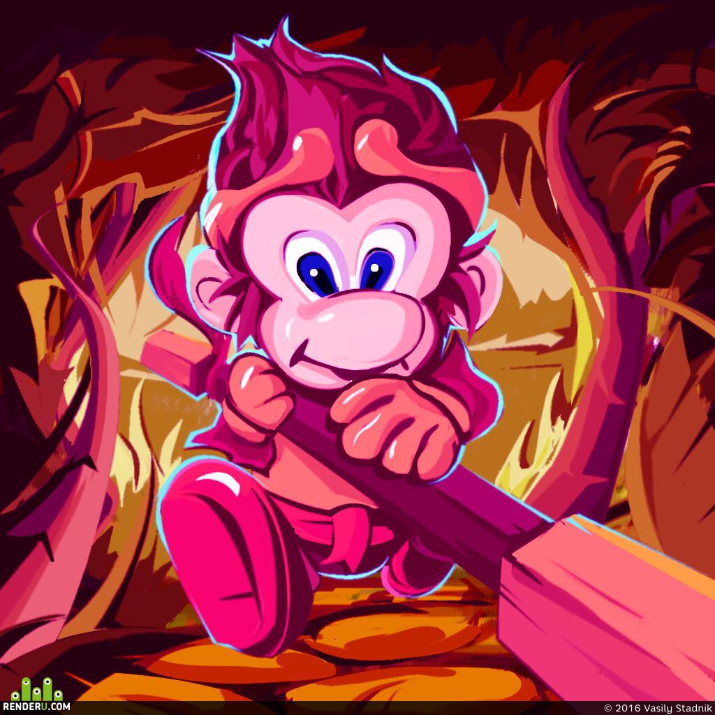 preview сумасшедшая обезьяна