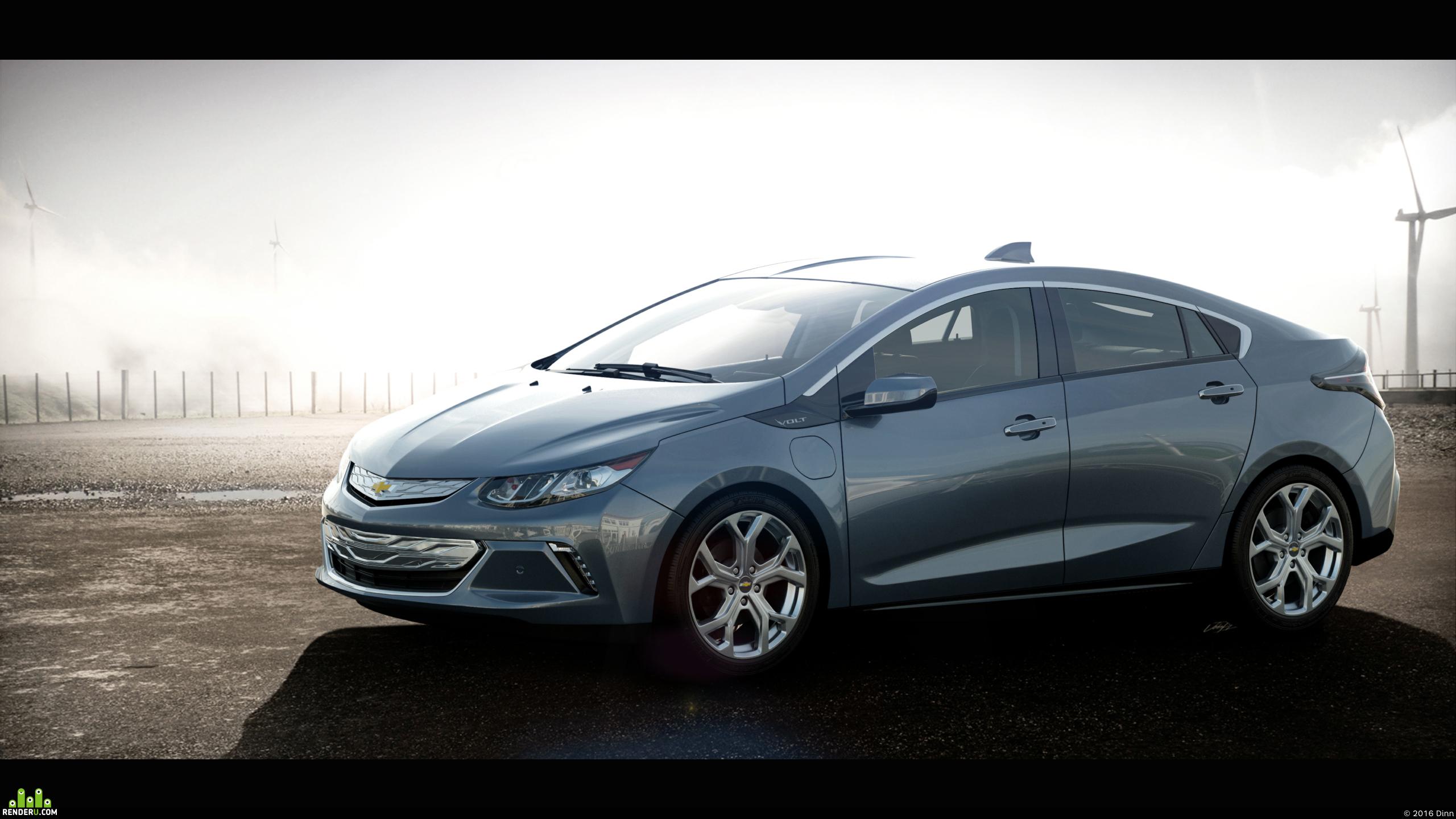 preview Chevrolet Volt (2016)