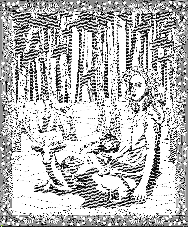 preview Лесной портрет
