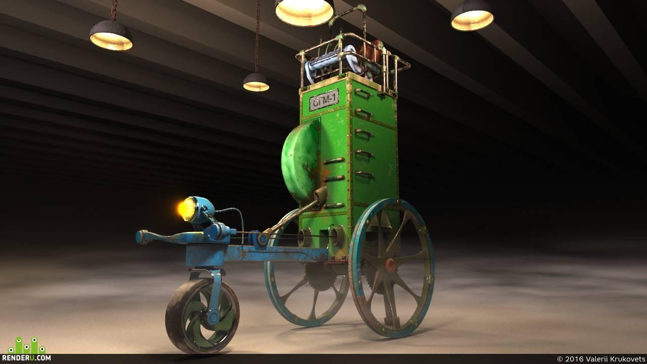 preview Самоходная гравитационная машина