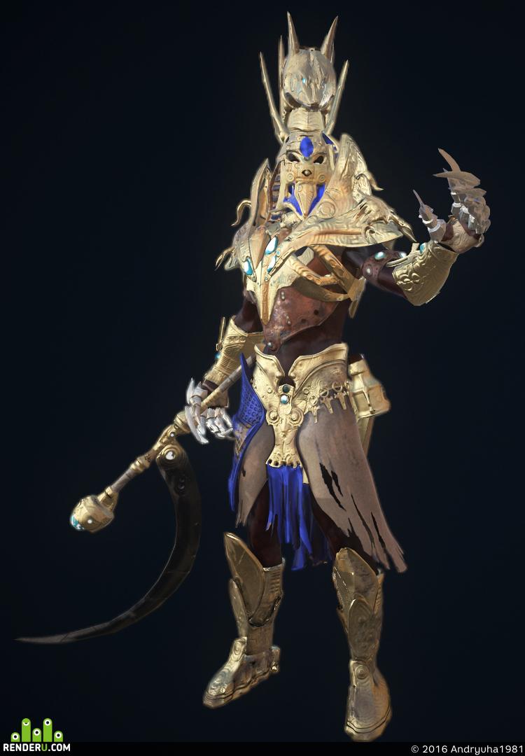 preview Анубис-воин