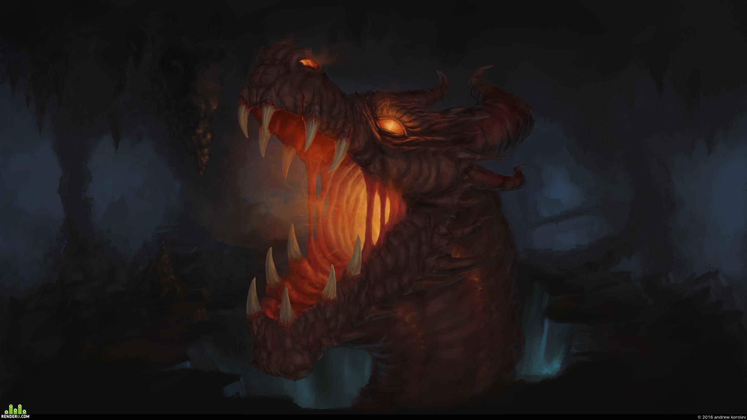 preview Пещерный дракон